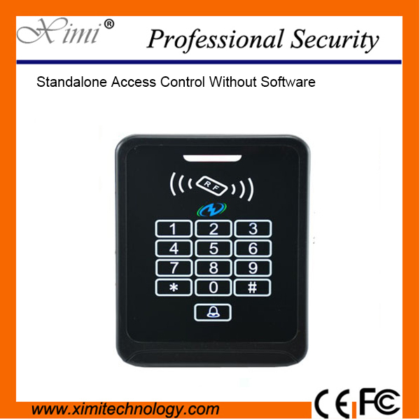 Good Qualiy Standalone F013 Single Access Control 3000 Users Id Card Reader High Security Access Control System good qualiy one year guarantee e2e x10f1 z