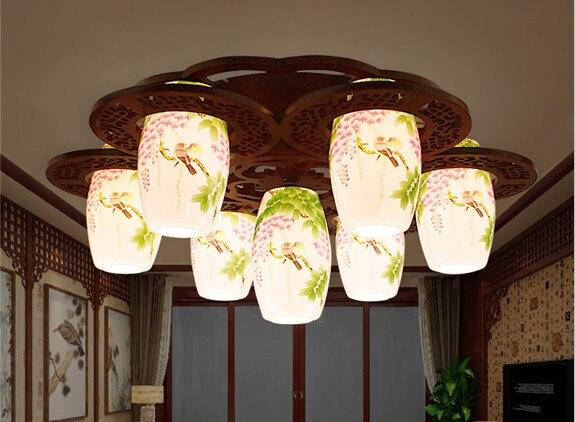 Nuovo arrivo in ceramica luci di soffitto del led lampada moderna
