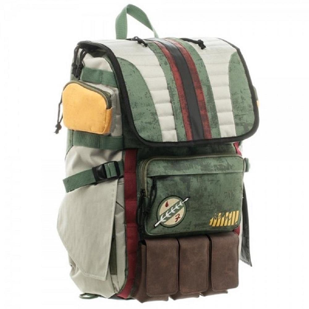 Star Wars Boba Fett Laptop Backpack great quality same men backpack large capacity travel bag fashion