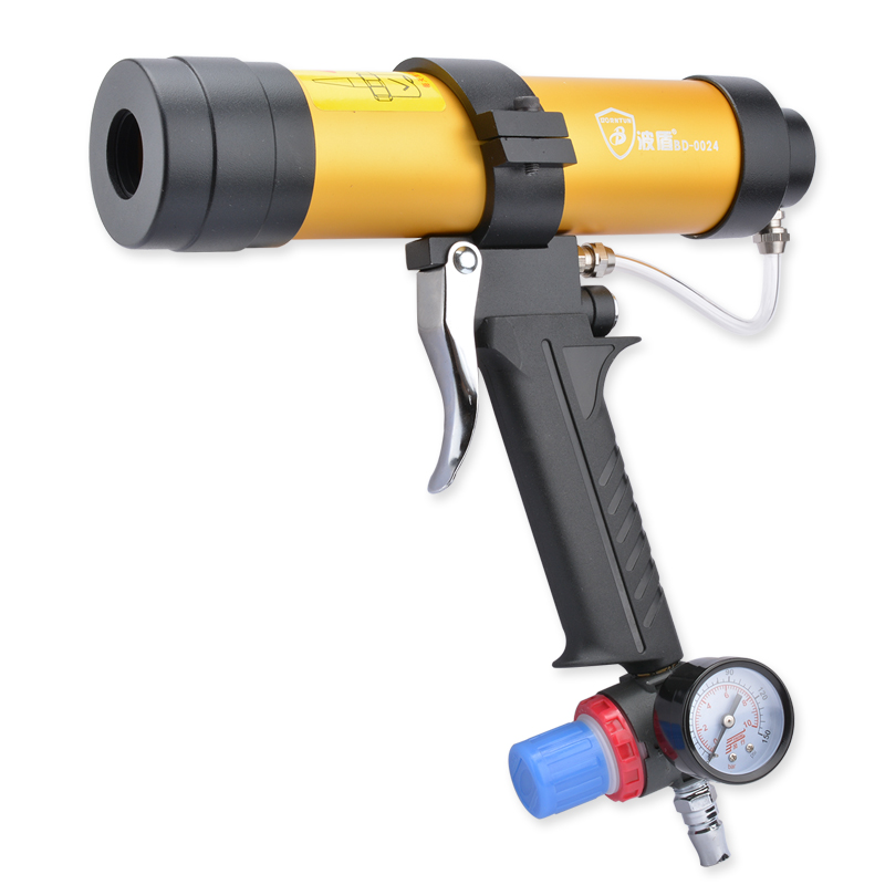 Wave Shield With The Speed Of Pneumatic Glue Gun 310ml Pneumatic Caulking Gun Soft Glass Glue Gun 0024 цена