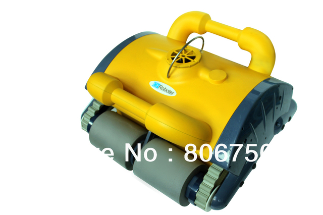 2013 Newest design Wall Climbing Function Dolphin Robotic Pool Cleaner with Remote Controller