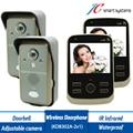KDB302A 2v2 wireless video intercom door phone cep telefonu video porteiro support motion detect, take photo, video talk etc