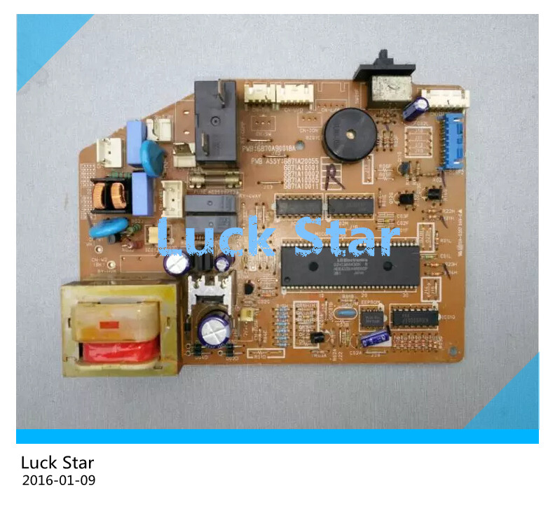 ФОТО 95% new & tested for LG Air conditioning board computer board circuit board 6870A90018A 6871A20055 6871A10001