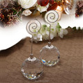 50pcs free shipping nice crystal ball place card holder n photo holder wedding party table numbers card holder party suppliesusd 12450lot