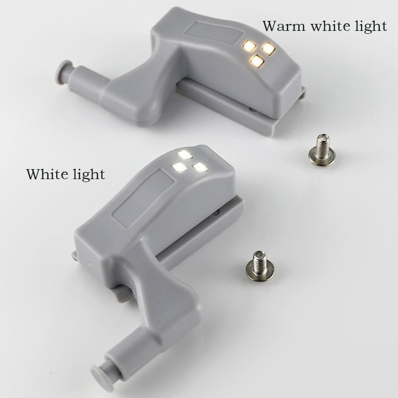 10PCS LED Intelligent Touch-sensitive Under Cabinet Light LED Emergency Night Light Kitchen Bedroom Library Lights Lighting