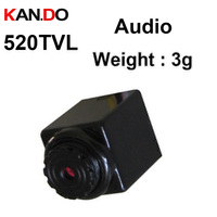 audio function drone camera robot camera white black camera 0.0008Lux/F1.2 small serutiy CAM 3.6V 5V MINI cctv camera with audio