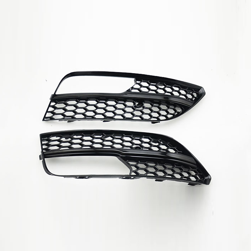 1Pcs For RS3 Quattro Style Front Sport Hex Mesh Honeycomb