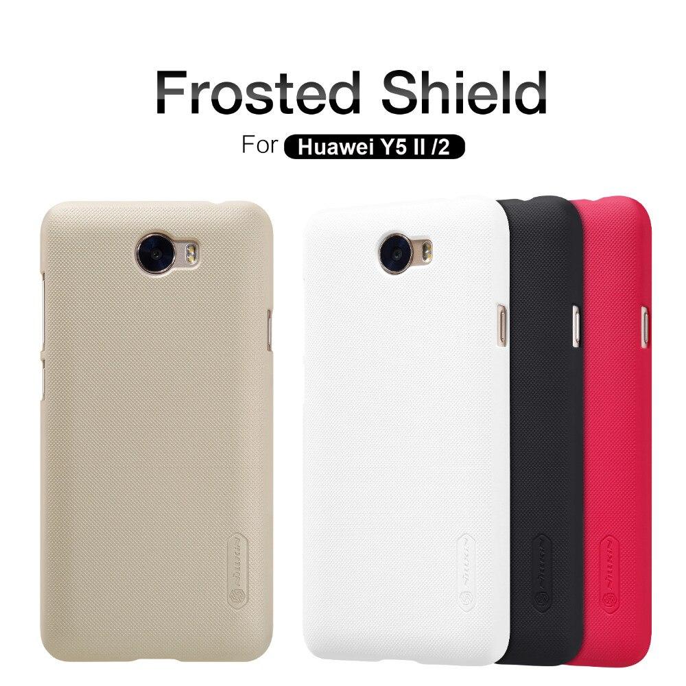 Huawei Y5 II/2 /Y6 Elite Case, Nillkin Super Frosted Shield Hard Case Cover For Huawei Y5-II/2 (Y6 Elite) Gift Screen Protector