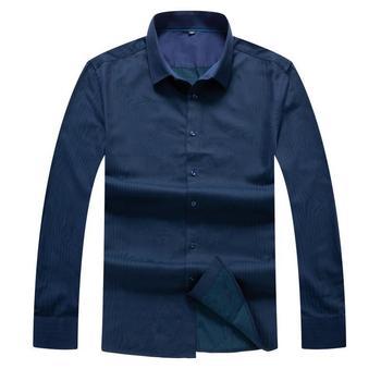 10XL 8XL 6XL Men Casual Long Sleeved Printed shirt Slim Fit Male Social Business Dress Shirt Brand Men Clothing Soft Comfortable