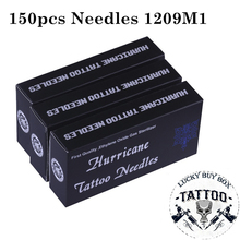 150 stuks Tattoo Naalden 1209M1 Diverse Gesteriliseerde Naald Microblading Handleiding Tatu Naald Voor Permanente Make Body Art