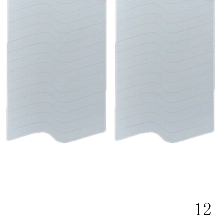 New Fashion 48PCS/Lot Nail Sticker DIY French Manicure Nail Art Decorations Round Form Fringe Guides Nail Sticker 18
