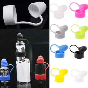 Universal Soft Silicone Drip Tip Dust Cap Vape Band For RDA RTA Atomiser Tanks image