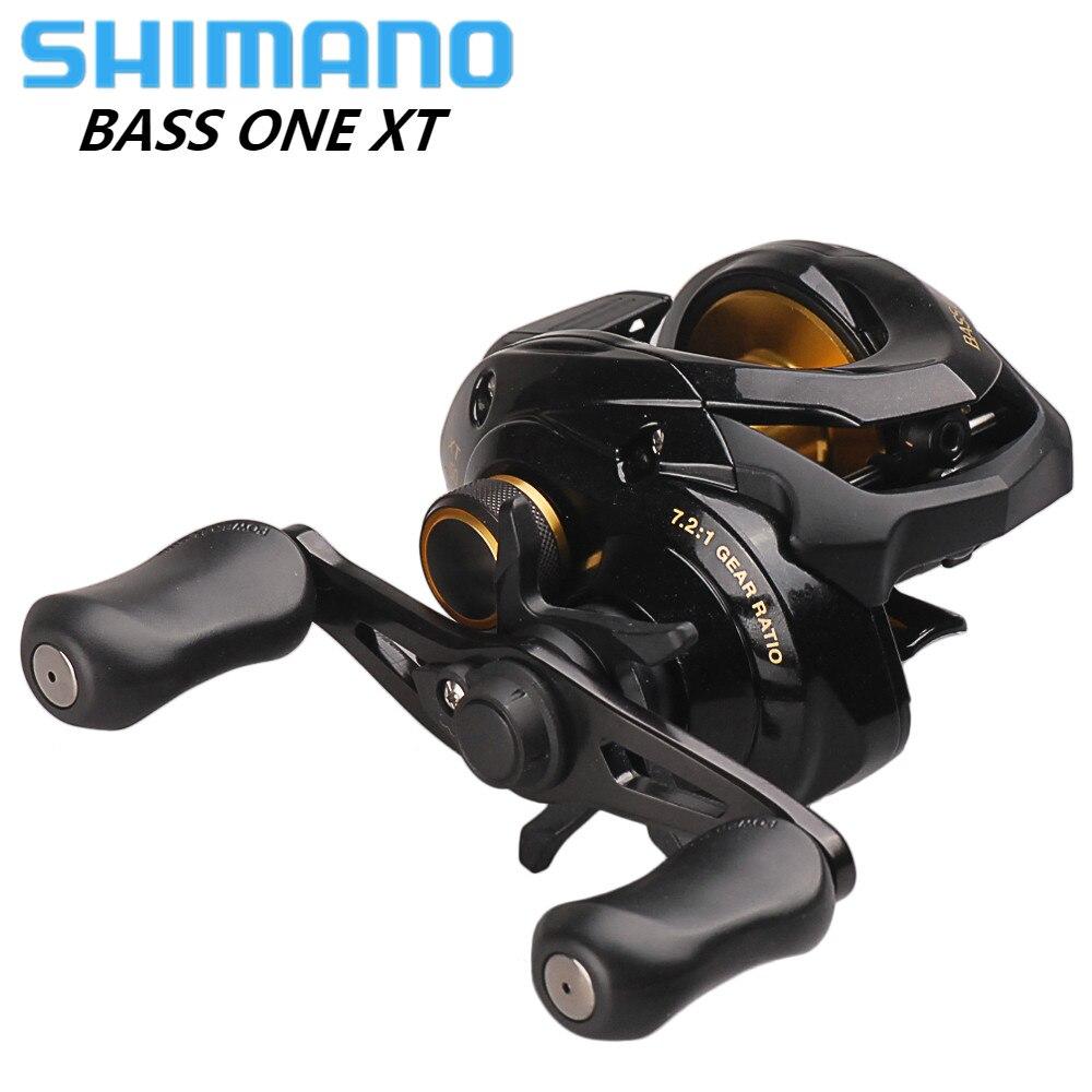 Original SHIMANO BASS ONE Fishing Reel Bait Casting 7 2 1 5BB Baitcasting Reel Carp Coil