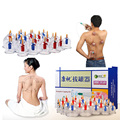 Kangzhu 24 Pcs Body Massage Vacuum Cupping Set Thicker Magnetic Aspirating Cupping Cans Chinese Acupuncture Massage Suction Cup