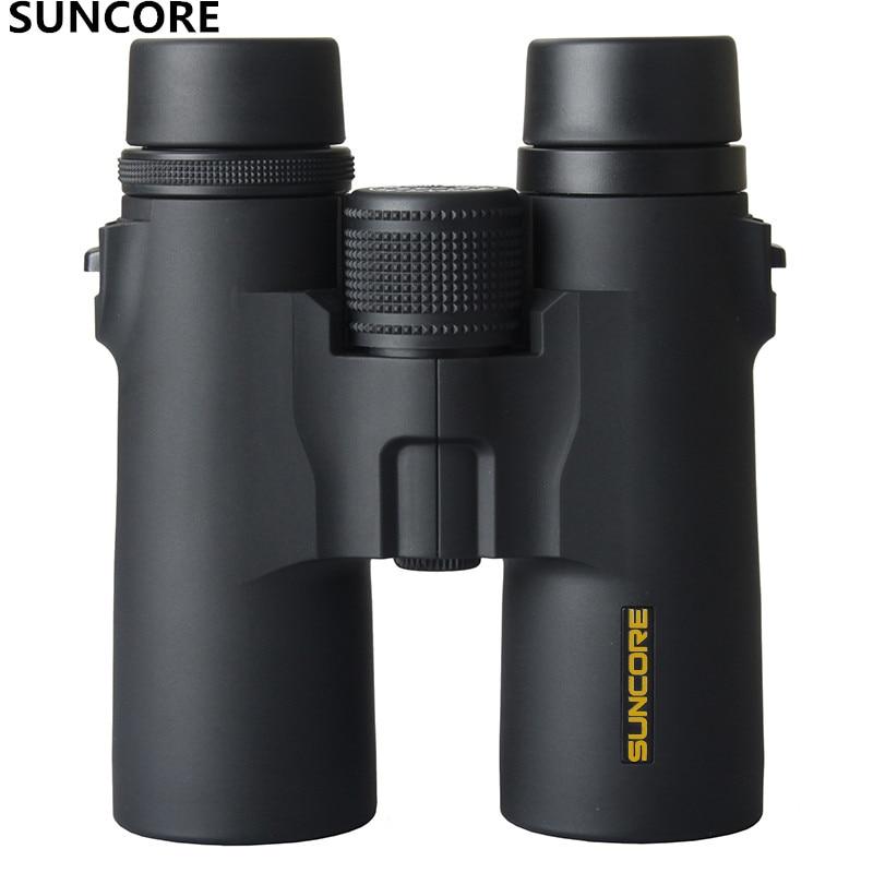 Suncore 10x42 8x42  High Power Binoculars Specialty Waterproof Telescope Sight Military Outdoor BAK4 High QualityViewing mirror Бинокль