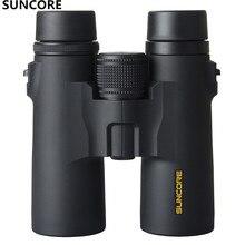 Suncore 10x42 8x42  High Power Binoculars Specialty Waterproof Telescope Sight Military Outdoor BAK4 High QualityViewing mirror цена