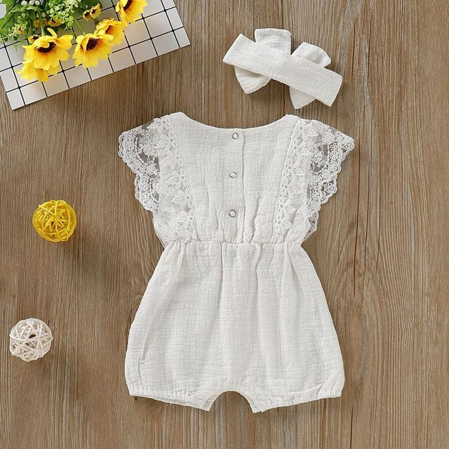 Pakaian Rompers Lace Baby  2