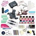 Top Envío Gratis Completo Kit de Tatuaje Máquina Rotatoria Del Tatuaje Bobinas máquina de Venta Caliente fuente de Alimentación 10 Colores Dragonhawk Tinta EE. UU. conjunto