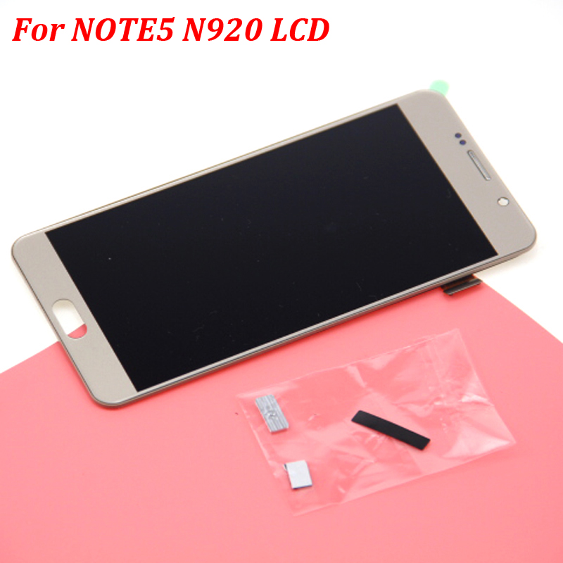 Note 5 LCD for SAMSUNG Galaxy Note 5 Display LCD Touch Screen For Samsung Note5 N920A N9200 SM-N920 N920C Digitizer