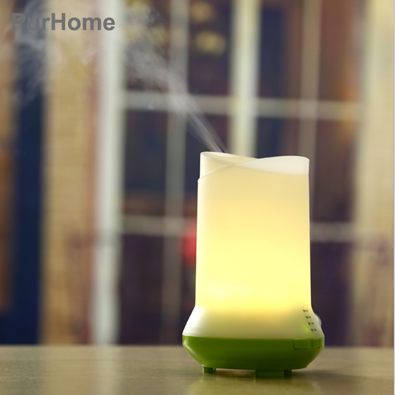 USB Ultrasonic Humidifier Portable Aromatherapy Essential Oil Purifying Air Diffuser Aroma Diffuser Mist Color LED Light 100ml 3d light essential oil aroma diffuser ultra quiet portable ultrasonic humidifier aromatherapy 12w 100 240v