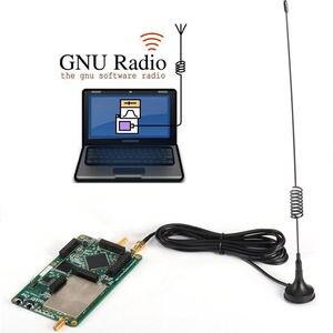Image 2 - HackRF One plate forme usb, Radio logicielle, définition SDR, 1MHz à 6GHz, carte de démonstration, TCXO, boîtier métallique, Antena, 2019