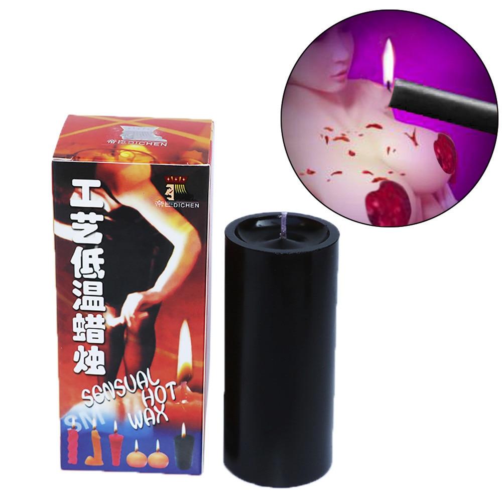 Jouets sexuels cire basse température bougies goutte à goutte adultes jeux femmes hommes bougie faisant des fournitures bricolage bougie de mariage bougies colorées 30C83