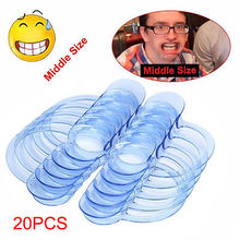 20pcs C-SHAPE Adult Speak Out TEETH CHEEK LIP RETRACTOR MOUTH OPENER MOUTHGUARD Funny Gag Toys Gags