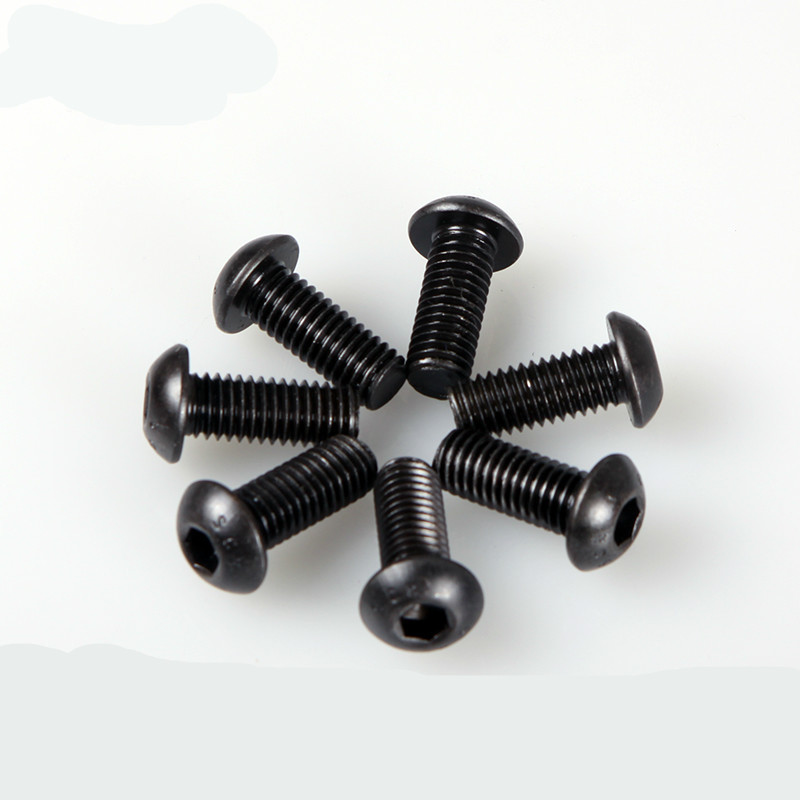 20PCS Mushroom Head With Hexagonal Screws  10.9 Series M4*6/8...40MM