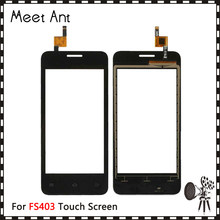 "10pcs/lot High Quality 4.0"" For Fly FS403 Touch Screen Digitizer Sensor Outer Glass Lens Panel(China)"