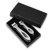 2 pçs/set Alemão de Aço Inoxidável cortador de Unhas Cortador de Unha do dedo do pé de Alta Qualidade Unha Aparador De Corte ferramenta|Conjuntos ferramenta manual|Ferramenta -