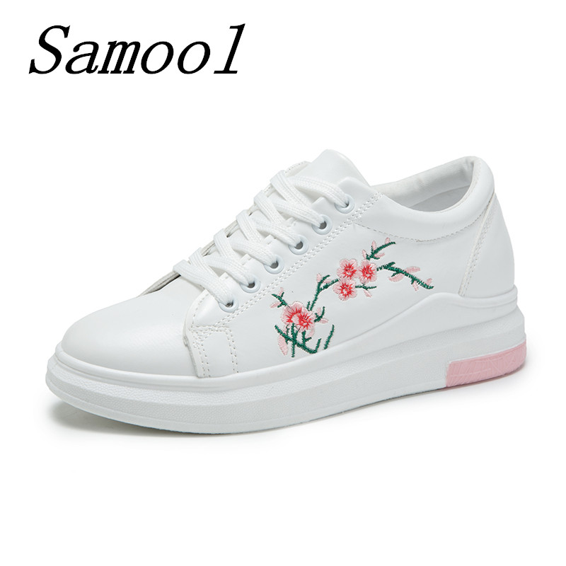 Women Embroidery Flowers Shoes Woman Moccasins Casual Shoes Zapatillas Mujer Female Soft Breathable Students Flats feminino jx3 summer lover shoes casual loafer women footwear style shoes chaussure zapatillas mujer female breathable walking shoes 6266f