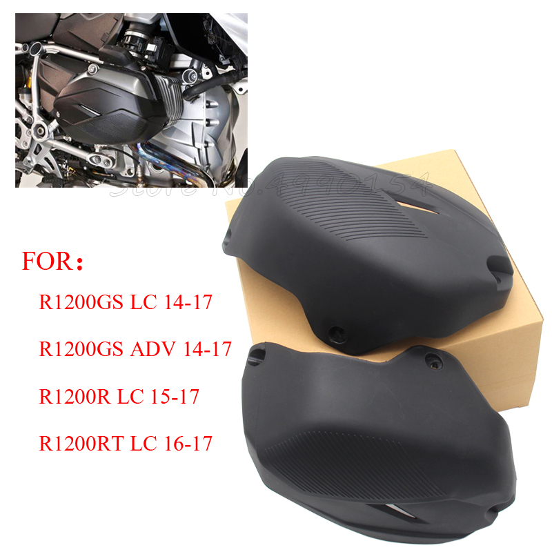 Cylinder Head Guards For BMW R1200GS LC 2014-2017 Engine Protector Cover For r1200gs adv For bmw r1200r lc 2015-2017 R1200RT LCCylinder Head Guards For BMW R1200GS LC 2014-2017 Engine Protector Cover For r1200gs adv For bmw r1200r lc 2015-2017 R1200RT LC