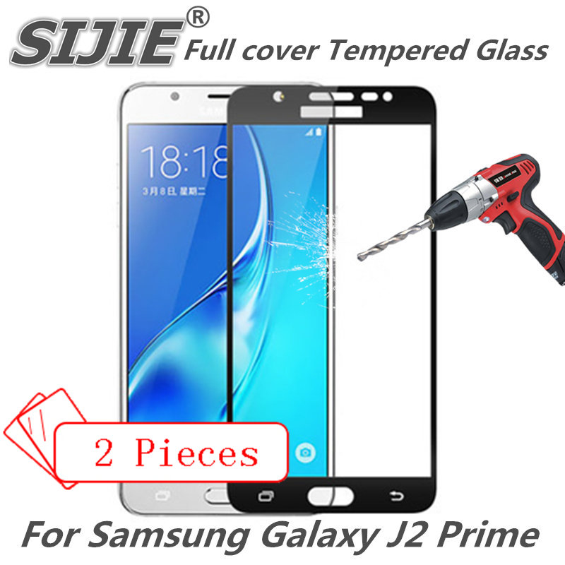 2pcs Full cover Tempered Glass For Samsung Galaxy J2 Prime G532 G532F Ace j2ace j2prime j 2 Screen protective 9H on toughened