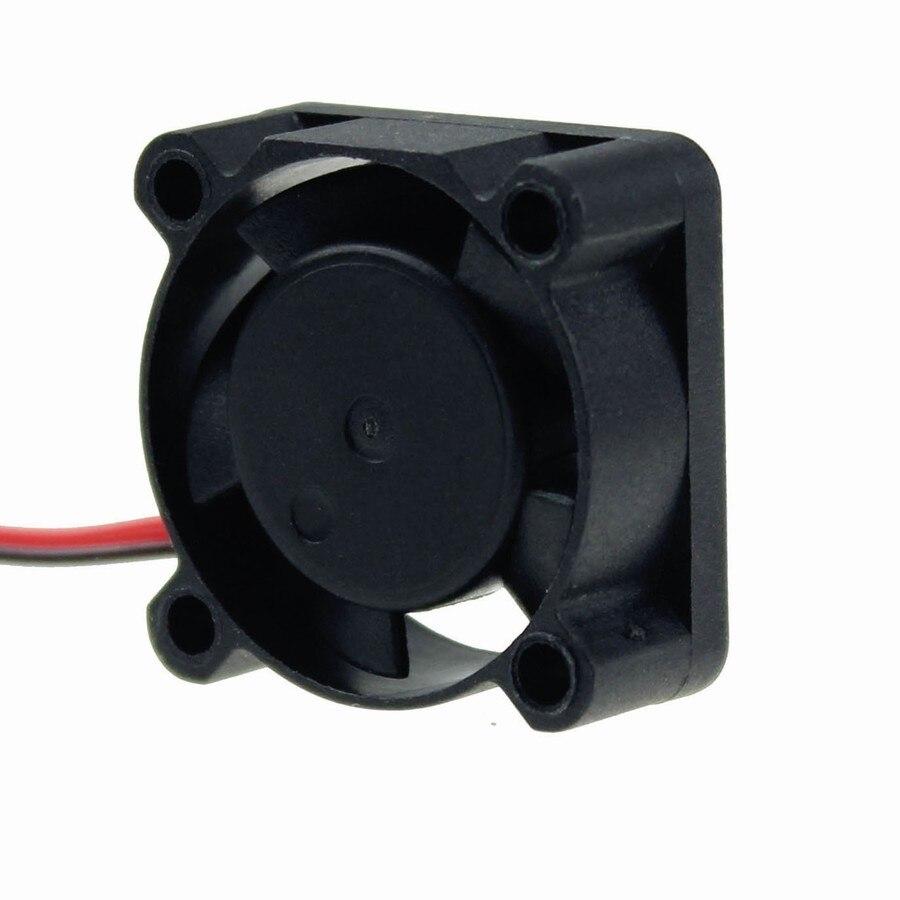 Купить с кэшбэком 2PCS Gdstime XH2.54-2Pin 5V Ball Bearing Small Micro Blushless DC Cooling Fan 25mm 25x25x10mm