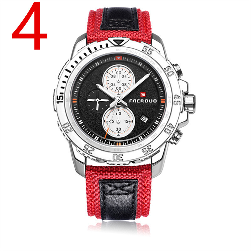 The elegant and luxurious mens business quartz watch shows a mature mans charm. 18The elegant and luxurious mens business quartz watch shows a mature mans charm. 18