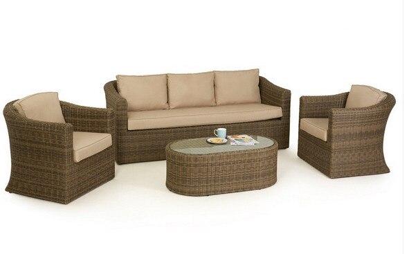 2017 High Quality Wicker 3 Seater Sofa Outdoor Garden Patio Furniture