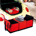BEMTOO Foldable Multi Compartment Car Covers Seat Organizer Insulated Food Storage Container Basket Stowing Tidying Bags