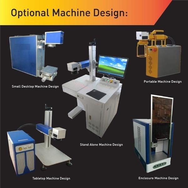 Hiina kuum müük pika tööeaga kiudlaseriga märgistusmasin 30W, - Puidutöötlemisseadmed - Foto 5