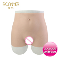 Roanyer silicone pants with artificial penetrable fake vagina transgender crossdresser Realistic Underwear for Shemale men male