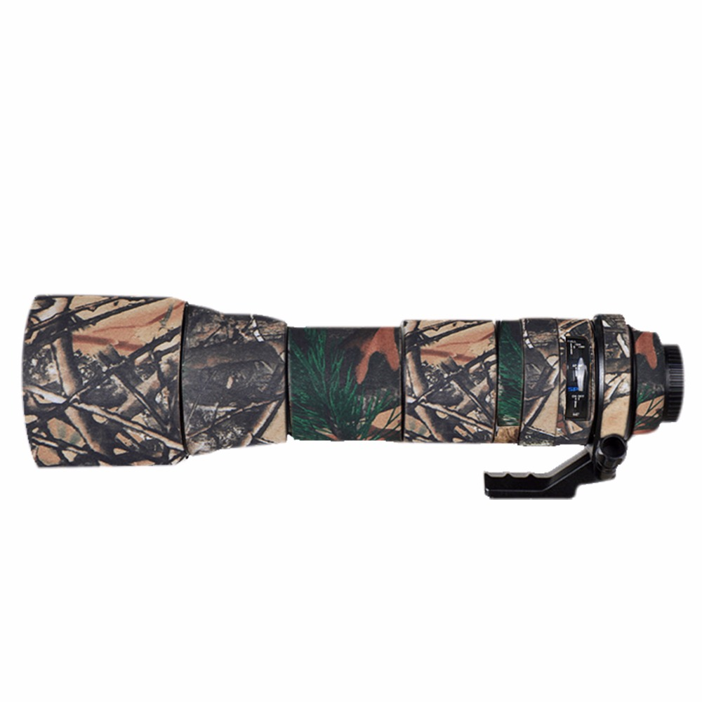 For Tamron 150 600A011 Skin Camera Lens Waterproof Neoprene Camo Guns Clothing Protection Cover Lens Coat Camouflage Case-in Camera/Video Bags from Consumer Electronics    1