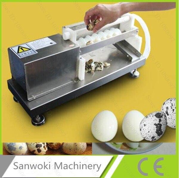 Automatic Eletric Quail Brid Egg Peeler Machine Huller Machine Sheller Machine