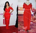 New Arrival Dresses 2016 Short Sleeves Red Carpet Dresses Sexy Deep V-Neck Long Dress Woman Kim Kardashian Dress