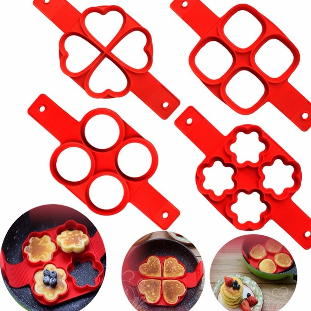 Non Stick Cooking Tool Egg Perfect Pancakes Pan Flip Breakfast Maker
