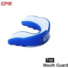 2018 Adult Sport Mouthguard Mouth Guard TeethProtect Double Side Boxing MMA Sanda
