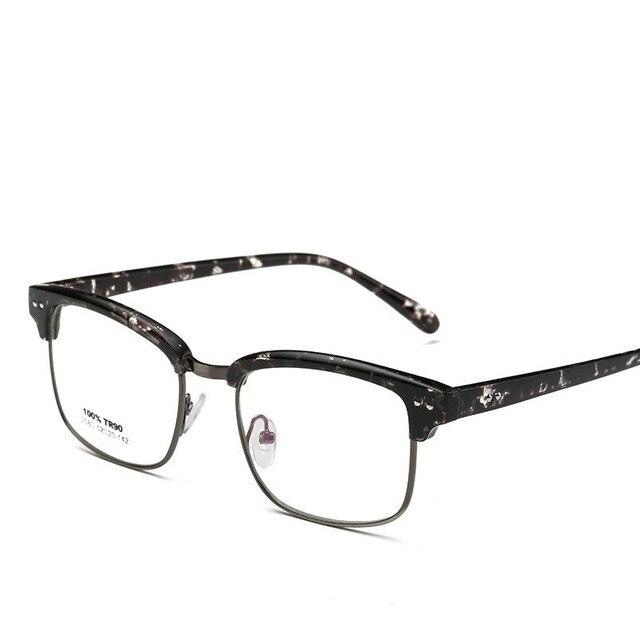 Man Black metalen frame Single bruggen gepolariseerde zonnebril Bril a6xdf