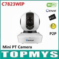 Vstarcam C7823WIP Wireless IP Camera 720P HD 1MP PT Mini Dome CCTV Camera IR 10M Day