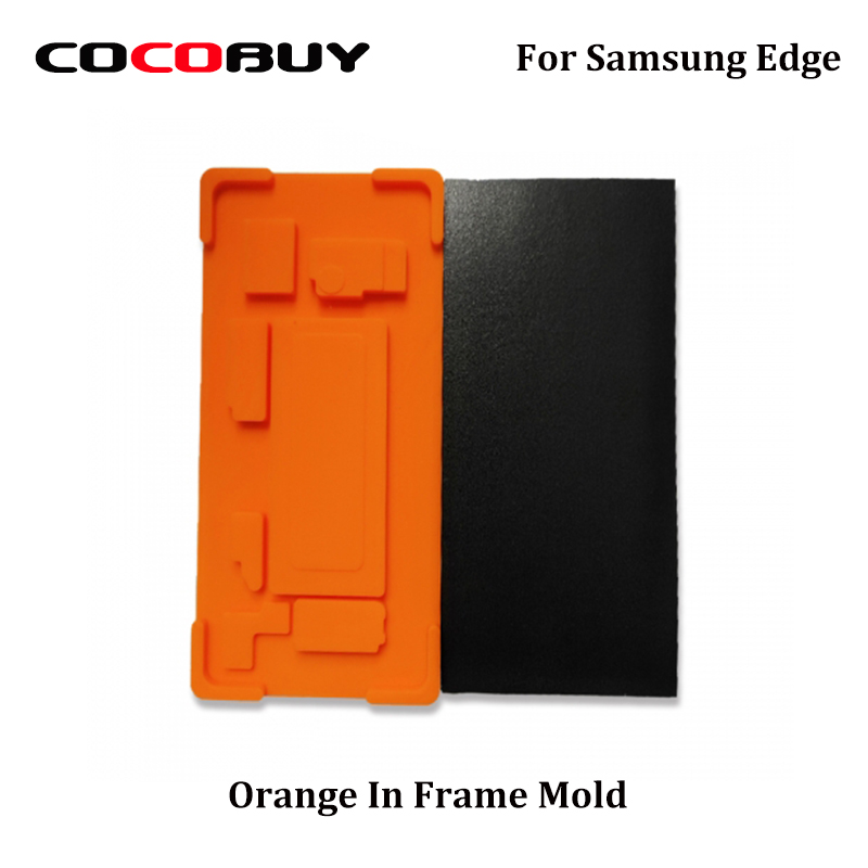 1Set In Frame Laminating Mould Mold For Samsung S7edge S8plus S9plus S9 Note8 Note9 LCD Touch Screen Laminating For YMJ Machines