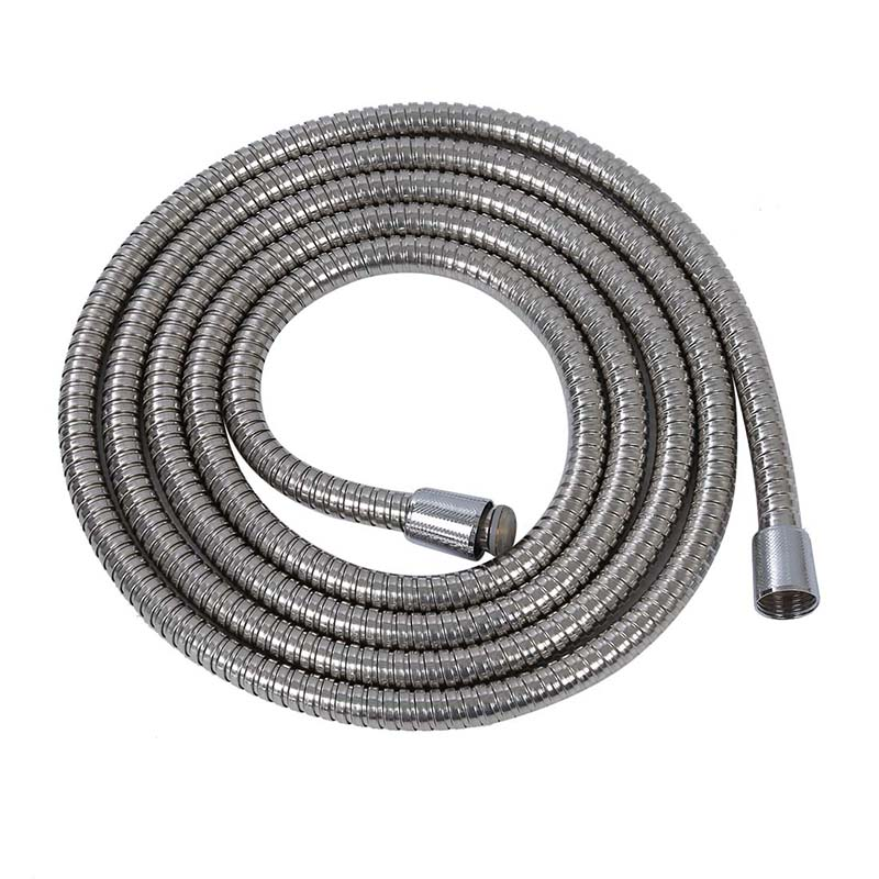 3m Long Stainless Steel 1/2 Bath Shower Flexible Hose Pipe