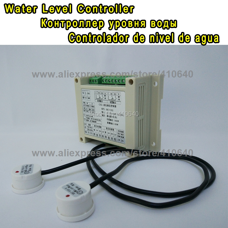 Non-contact Liquid Level Floater Controller Water Tank Automatic Water Level Controller Water Level Detect System FROM FACTORY! automatic water level control solution of an overhead tank for housing