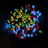 200 LED 22M Solar Lamp Fairy String Lights Solar Power Outdoor Lighting 2 Modes Waterproof For
